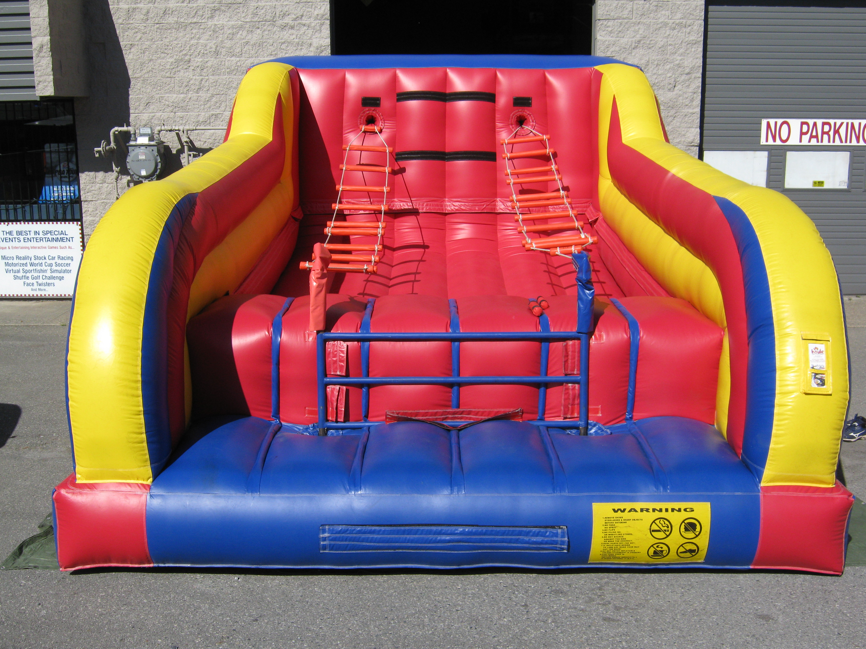 Inflatable Game Rental Vancouver Jacobs Ladder Houle Games