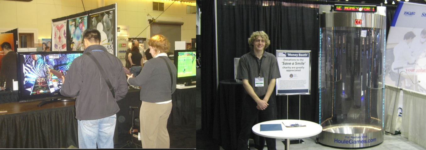 Trade Show Booth Game Ideas : Fun ideas for trade show booths houle games