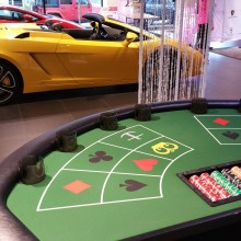 Casino Night at Lamborghini Vancouver