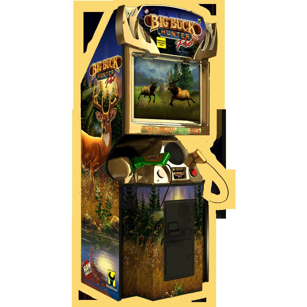Arcade1up Big Buck Hunter Arcade w/4 Games Multi ...