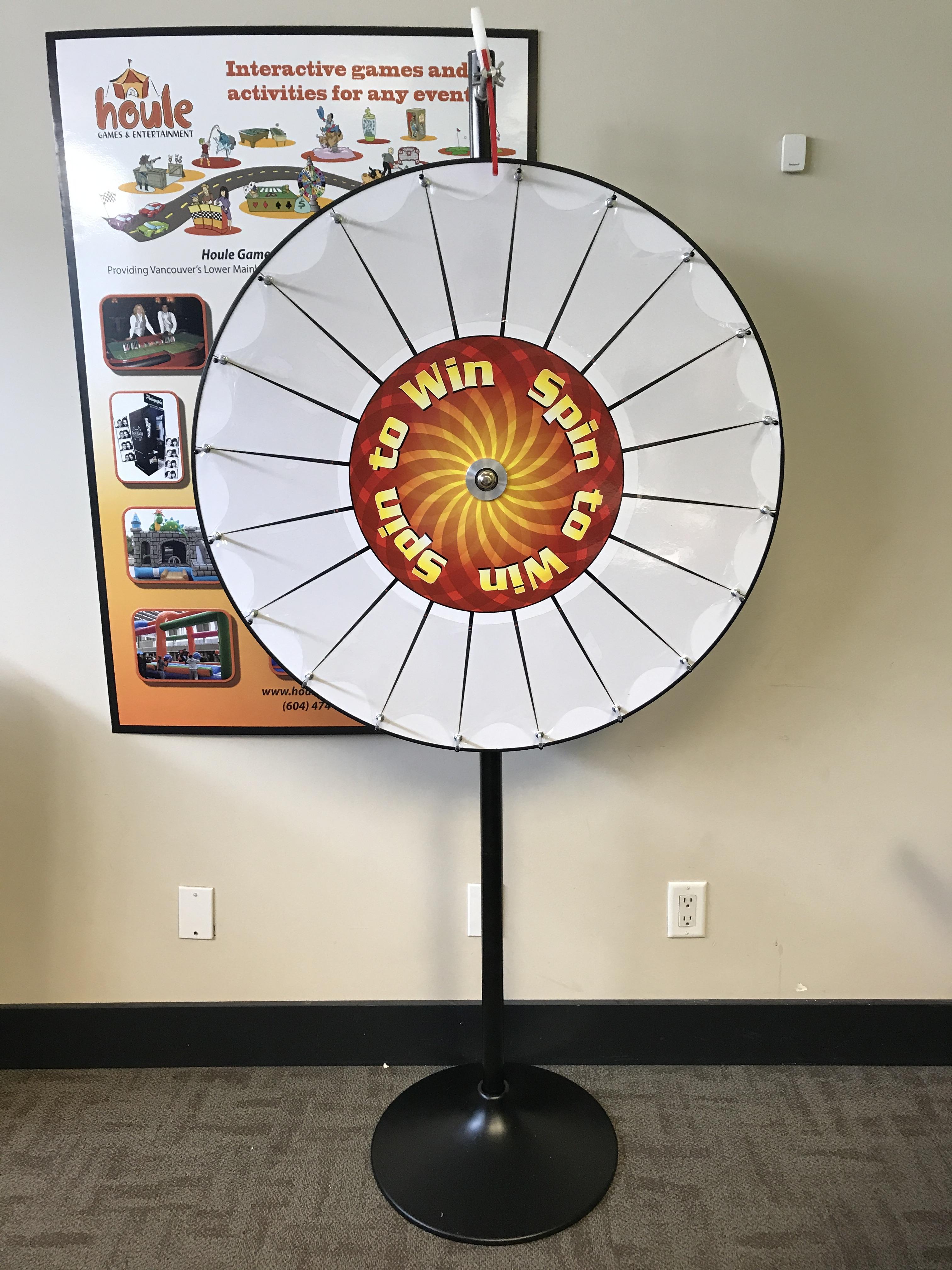 Carnival Amp Picnic Game Rentals Pocket Prize Wheel