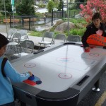 Air Hockey Table in Action!