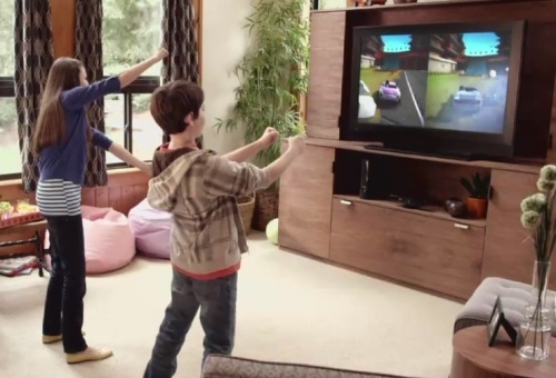 Xbox Kinect in action!