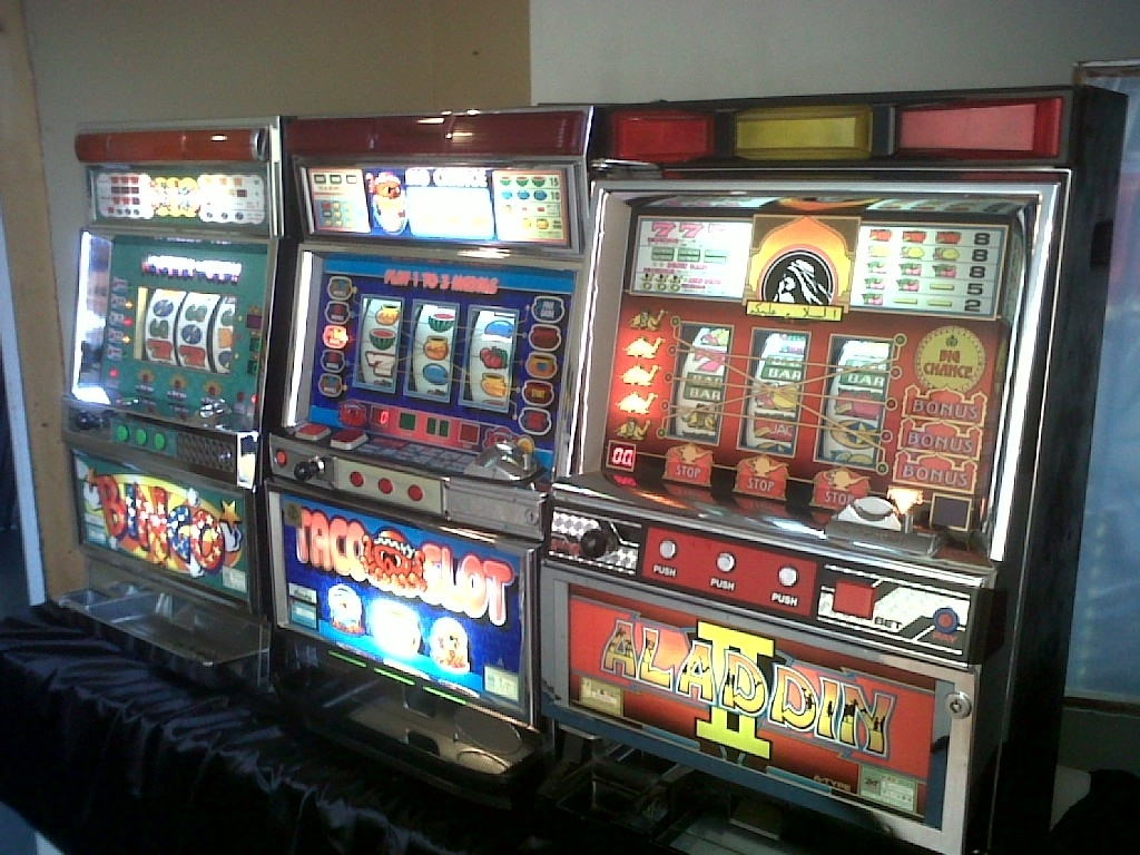 video slot machines games
