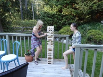 That's one tall jenga tower!