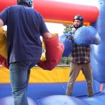 Bouncy  Boxing in action!