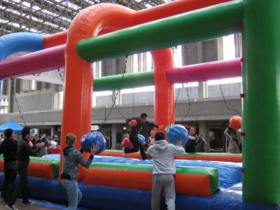Inflatable Games & Bouncers