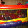 Kids having a great time in the Mini Castle!